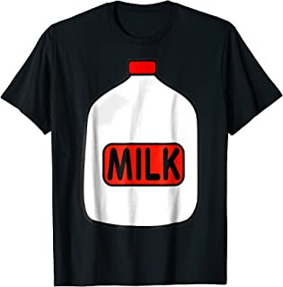 Gallon Of Milk Costume T-Shirt, Match With Cookie Costumes