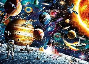 1000 Piece Space اره منبت کاری اره مویی DIY بزرگسالان فضای پازل فضانورد ، کهکشان کیهانی بزرگ شده پازل بازی های آموزشی اسباب بازی هدیه