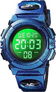 Kids Watch Sport Multi Function 30M Waterproof LED Alarm Stopwatch Digital Child Wristwatch for Boy Girl