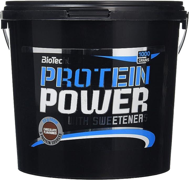 Protein power 1000 g cioccolato biotech usa iaf00070561 5999076201860