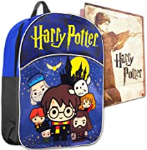 Harry Potter Backpack Preschool Toddler Kindergarten -- Deluxe Mini Harry Potter Backpack with Gift-Bag (Harry Potter School Supplies)