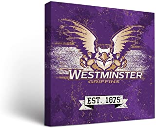 Victory Tailgate Westminster College Griffins Canvas Wall Art Banner Version