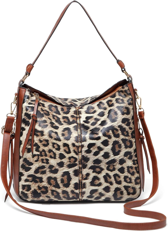 QUARKERA Leopard Print Purses and Lad Bargain Large special price !! sale Women Handbags for Fashion