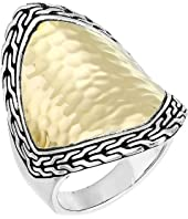 John Hardy - Classic Chain Hammered Heritage Marquise Ring
