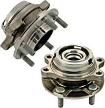 Detroit Axle Pair Front Wheel Bearing & Hub Assembly Set for AWD Only - 08-12 Infiniti EX35 - [03-08 FX45] - 09-12 FX50 - [11-12 G25] - 07-08 G35 - [06-10 M35] - 11-13 M37 - [08-10 M45]