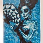 Strassstein Gemälde Diy 5d Diamant Malen Nach Zahlen Kit Diamant Painting Kleines Bild Skull Strass Stickerei Kreuzstich Kits Kunst Basteln Leinwand Wand Home Decor Sticker Aufkleber 30 X 40 Cm Küche