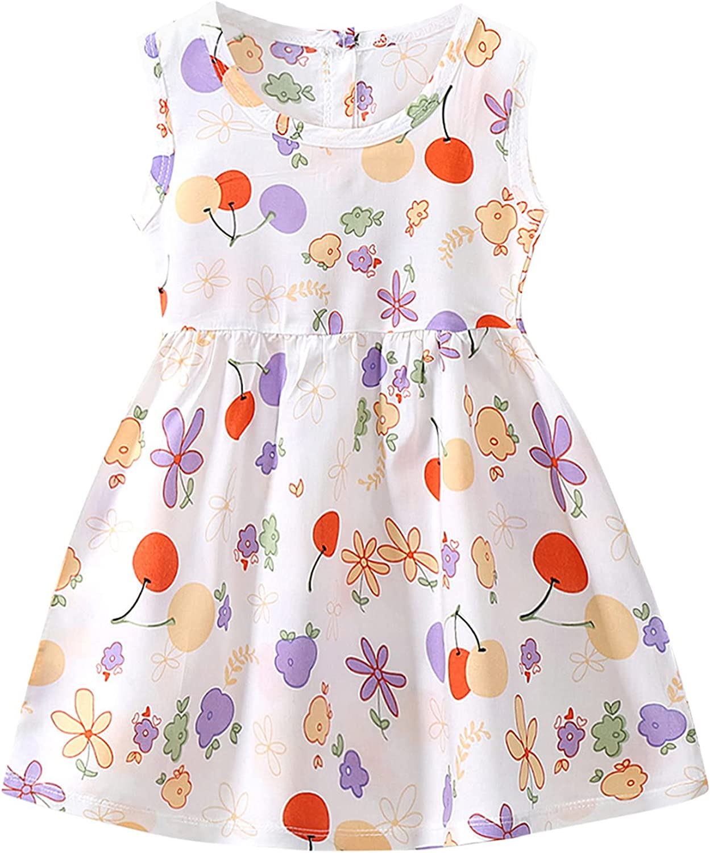 Infant Toddler Max 87% OFF Baby Girls Kids Dresses Print San Francisco Mall Boho Floral Summer