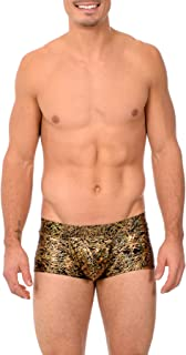 Gary Majdell Sport Mens Printed Hot Body Boxer Swimsuit