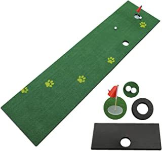 TIANNBU Golf Putting Mat Putting Green Synthetic Turf Artificial Grass Lawn for Home Office Backyard Indoor Outdoor