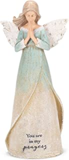 "Roman Inc. 8.5"" H Bereavement Angel with Dove Karen HAHN Angel 12571"
