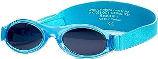 21768a2153 BABY BANZ BUDZEE Gafas de sol para Bebés de 0 a 2 años. (Laguna
