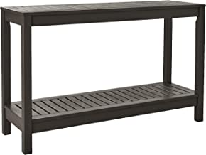 Cambridge-Casual 225350 Alfresco Console Table, Dark Grey