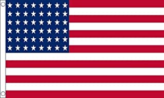 Union 48 Stars 1912 to 1959 Flag 5'x3' (150cm x 90cm) - Woven Polyester