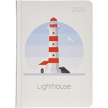 Agenda Giornaliera 2020 Sydney Carbon 10.7x15.2 cm