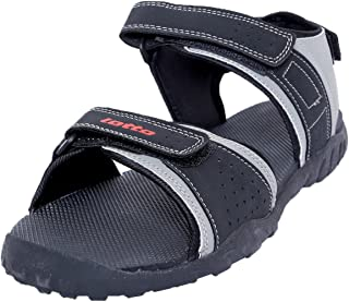 Lotto Tonnia Unisex Black/Grey Sandals and Floaters