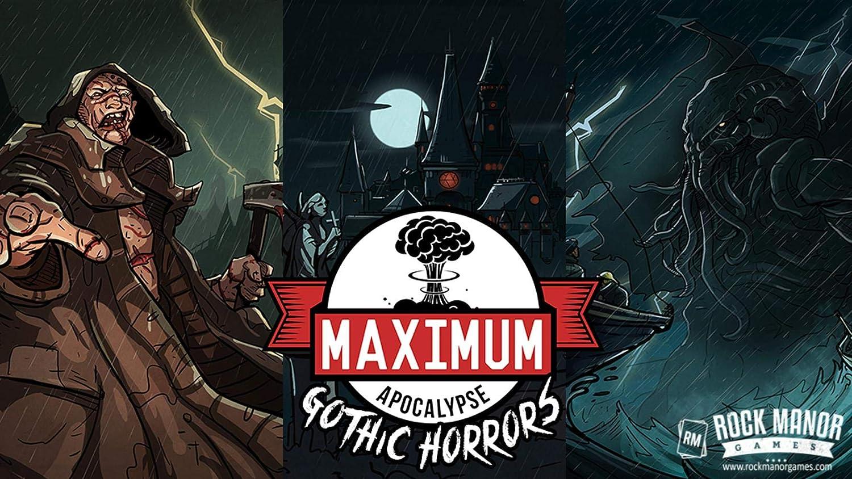 Maximum Apocalypse  Gothic Horrors Expansion B07P163G9J Spielzeugwelt, spielen Sie Ihre eigene Welt  | Wunderbar
