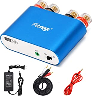Facmogu G100 50W+50W Mini Power Amplifier, Bluetooth 5.0 Home Speaker Amp Audio Receiver with 12V 5A Power Supply, Music P...