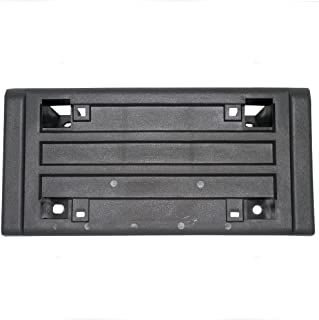 License Plate Bracket Holder with Impact Strip Front Replacement for GMC Chevrolet Pickup Truck SUV 15990674