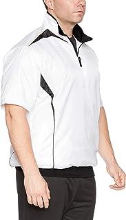 [エスエスケイ] 半袖シャツ プレジャン ハーフZIP半袖(裏メッシュ) メンズ