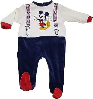 acb4c185903700 Disney TUTINA IN CINIGLIA MICKEY MOUSE CON PIEDINI PER BAMBINO (ART.  BQ2846) (