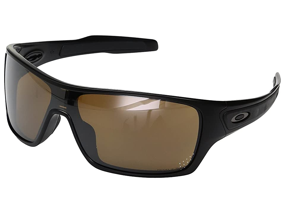 Oakley Turbine Rotor (Matte Black w/ Prizm Tungsten Polarized) Fashion Sunglasses