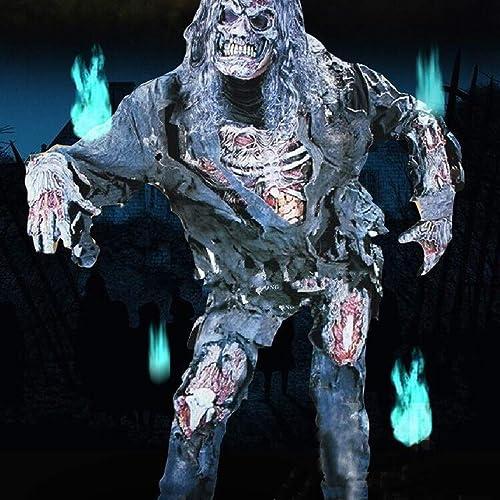 Bureze Adult Halloween Costume Zombie Cadavre Momie Mort Cosplay Pour Carnaval Unique