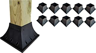 Deck Railing Post Support 4x4 Post (3.5x3.5 Actual Size) (10 Pack)