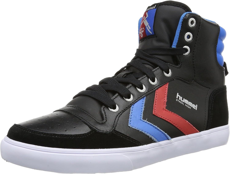 Hummel Stadil, Unisex Adults' Hi-Top Sneakers Black