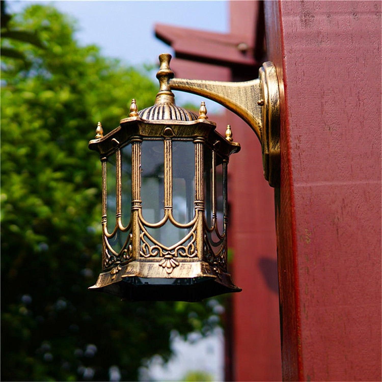 Modern LED Wandleuchte Gang wandleuchte mediterranen wohnzimmer hintergrund wanddekoration wandleuchte wasserdicht rostfrei balkon flur auenwandleuchte hhe 38  durchmesser 21 cm