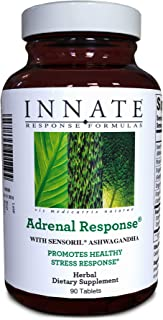 INNATE Response Formulas, Adrenal Response, Herbal Supplement, Non-GMO, Vegetarian, 90 tablets (45 servings)