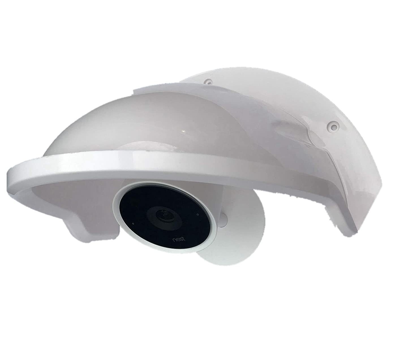Ade Advanced Optics Camera Sunshade for Nest/Ring/Arlo/Dome/Bullet Outdoor Camera - White