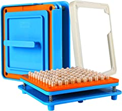 100 Holes (1#) Capsule Holder with Tamper for Size 1 Capsules Holding Tray