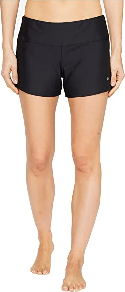 Next by Athena Good Karma Jump Start Mid Rise Swim Shorts