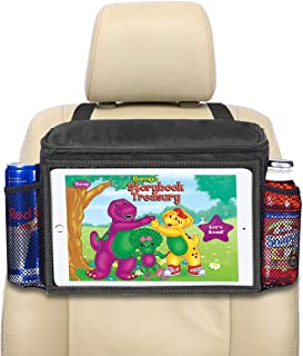 lebogner Insulated Car Seat Back Organizer + iPad and Tablet Holder, Auto Driver Or Passenger Accessories Organizer, Vehic...