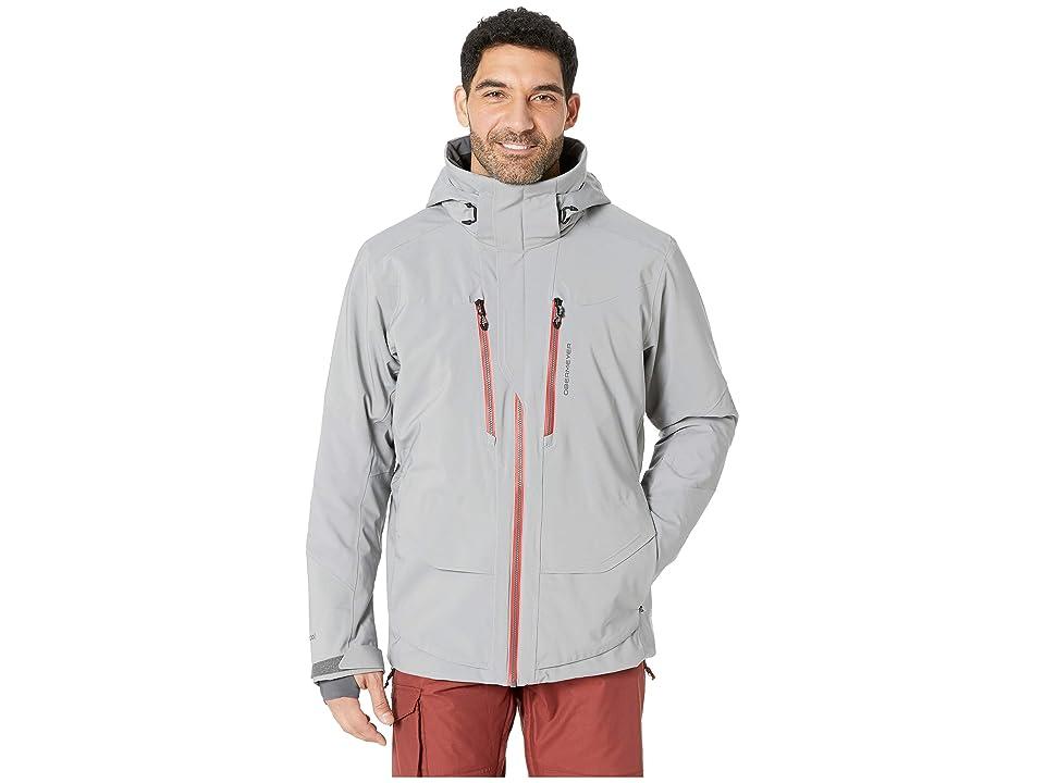 Obermeyer Kodiak Jacket (Zinc Grey) Men