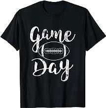 Game Day Football Cute Football Top T-Shirt