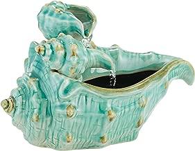 John Timberland Seashells Modern Zen Indoor Table-Top Water Fountain 7