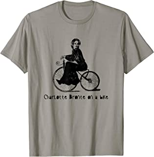 Charlotte Bronte on a Bicycle Charlotte Bronte T-Shirt