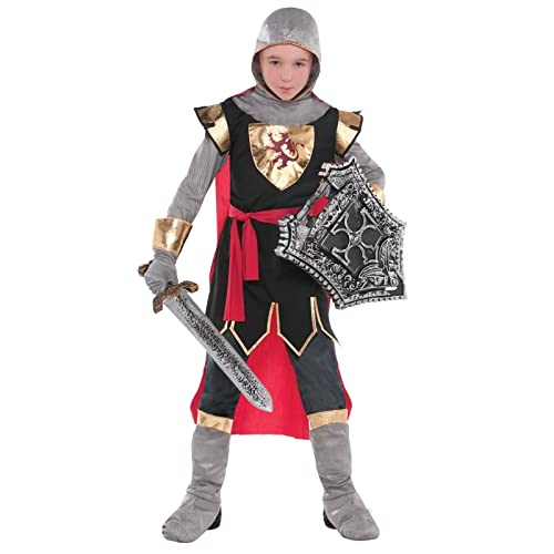 Child Crusader English Medieval Knight St George Boys Fancy Dress Costume CC790