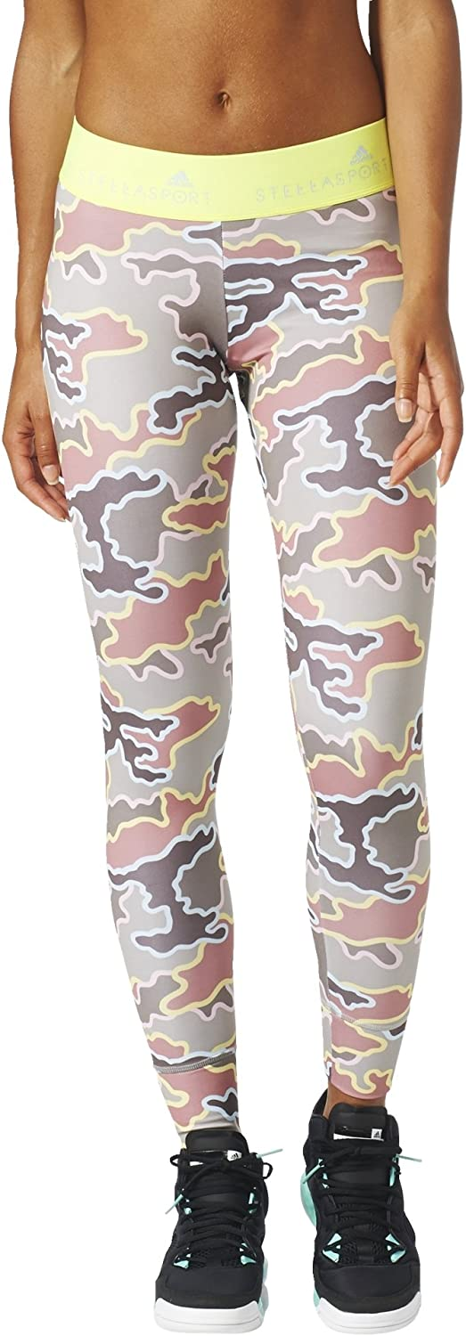 Adidas Stella McCartney Women Tights Camo Stellasport Training CS Running