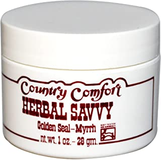 Country Comfort Herbal Savvy Goldenseal Myrrh 1 Oz
