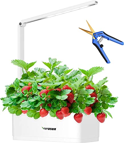 discount VIVOSUN Hydroponics Smart lowest Garden Kit with LED, with Gardening Pruning Shear Curved outlet sale Precision Blades outlet online sale