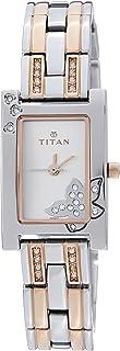 Titan Purple - Glam Gold Analog Silver Dial Women's Watch -NK9716KM01