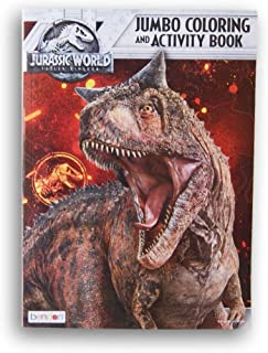 Lazy Days Jurassic World Fallen Kingdom Jumbo Coloring and Activity Book - 96 Pages