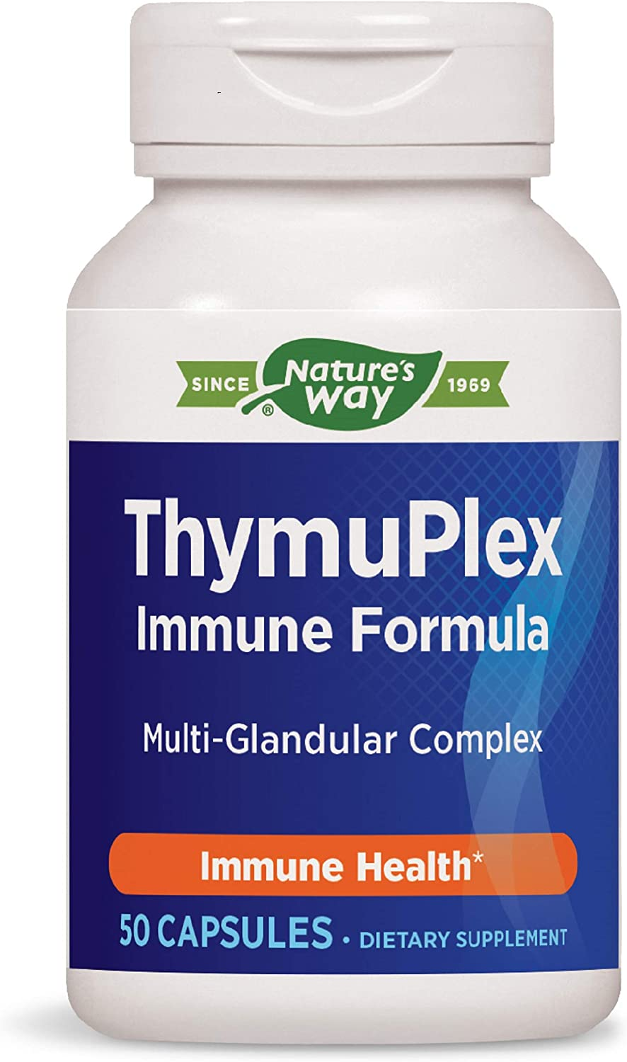 Enzymatic Therapy ThymuPlex New Shipping Free Shipping Immune 50 Formula Fashionable Count