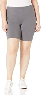 Women's Plus-Size Stretch Jersey Bike Short