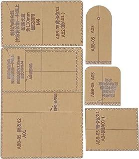Modello di portafoglio in acrilico fai-da-te, modello di portamonete semplice, comodo regalo durevole per portamonete in p...