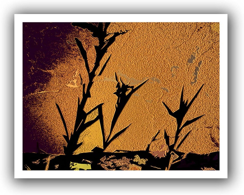 Artwall 0Uhl138A1418R Dean Uhlinger Shadow Rock Unwrapped Canvas Artwork, 18 by 22-Inch