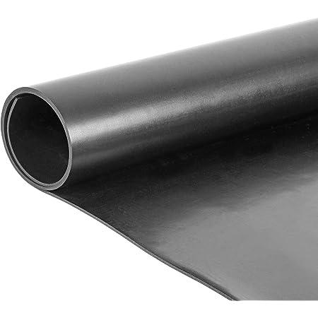 Gummimatten in 9 St/ärken Meterware St/ärke 5 mm zahlreiche Verwendungsm/öglichkeiten Gummiplatten NR//SBR 120x450 cm