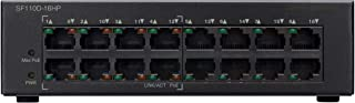 Cisco Fast Ethernet 16 Switch - SF110D-16-EU